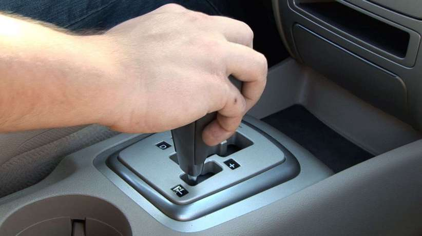 Shifting gears manually